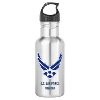 U.S. Luftwaffen-Veteranen-Wasser-Flasche Edelstahlflasche