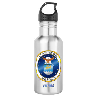U.S. Luftwaffen-Veteranen-Wasser-Flasche Trinkflasche