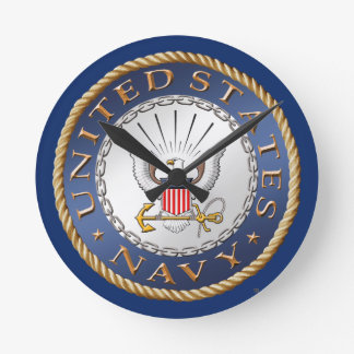 U.S. Marine-Acryl-Wanduhr Runde Wanduhr