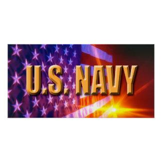 """U.S. Marine Ihre Gewohnheit 28"""" x 14"""" perfektes Poster"""