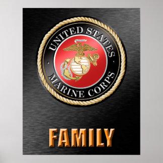 U.S. Marineinfanteriekorps-Familie Poster