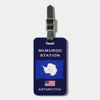 U.S. - McMurdo Antartic Stations-Gepäckanhänger Kofferanhänger