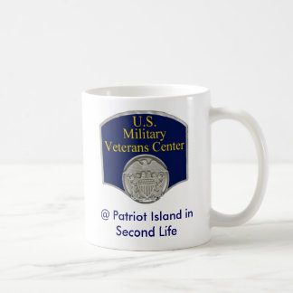 U.S. Militärveteranen-Mitte in der zweiten Kaffeetasse