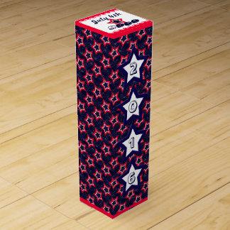 U.S. Patriotische Feier von Nationalfeiertagen Wein-Geschenkverpackung