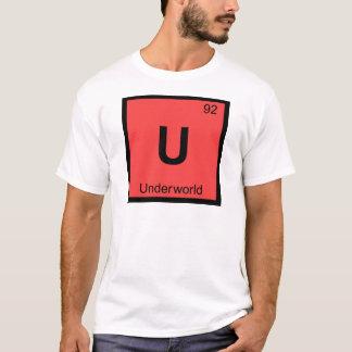 U - Unterwelt-griechisches Chemie-Periodensystem T-Shirt