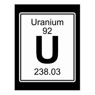 U - Uran Postkarte