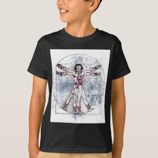 U.V MANN (universeller Vitruvian Mann) T-Shirt