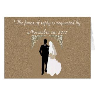 UAWG, das Einladungs-Schablone Wedding ist Karte
