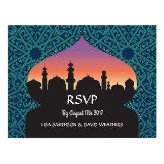 UAWG Wartehochzeits-Postkarten-arabisches Postkarte