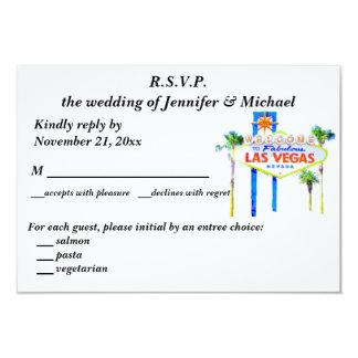 UAWG Wedding und Empfang Las Vegas Karte