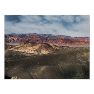 Ubehebe Krater Death Valley Poster