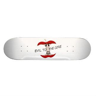 Übel zum Apple-Kern Skateboard