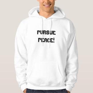 Üben Sie Friedenssieg aus! Hoodie-Fertigen Sie Kapuzensweater