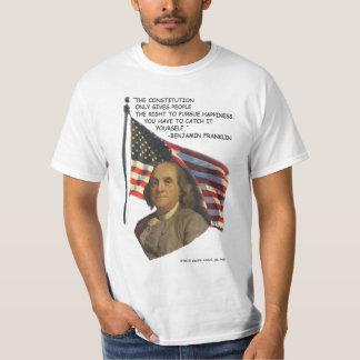 Üben Sie Glück aus T-Shirt