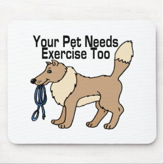 Üben Sie Ihr Haustier aus Mousepad