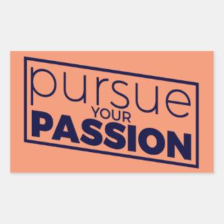 Üben Sie Ihre Leidenschaft - Aufkleber aus
