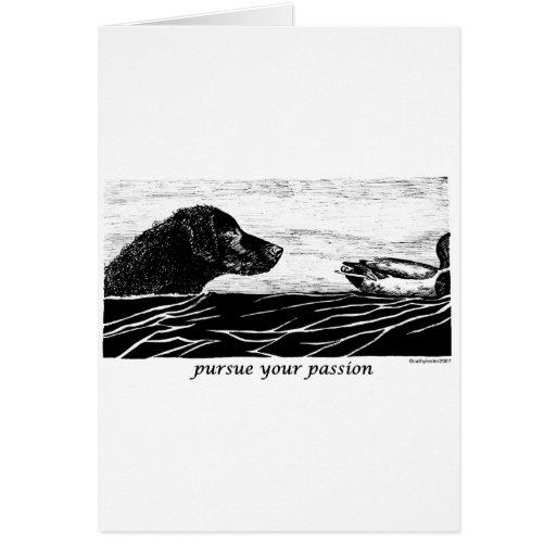 Üben Sie Ihren Leidenschafts-gelockten überzogenen Karten