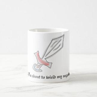 Üben Sie Negativitäts-Klinge-Tasse aus Tasse