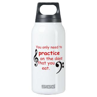 Üben Sie, wenn Sie Kaffee-Tasse essen Thermoflaschen