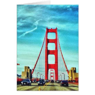 Über dem Golden Gate Karte