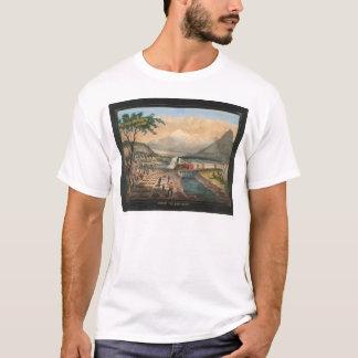 Über dem Kontinent (0005A) T-Shirt