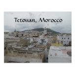 Über dem Medina -- Tetouan, Marokko Postkarten
