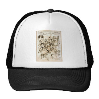 Über dem Zaun-Vintagen Theater Baseballkappen