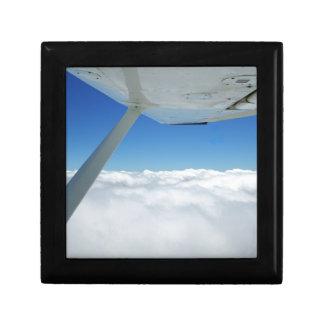 Über den Wolken Kleine Quadratische Schatulle