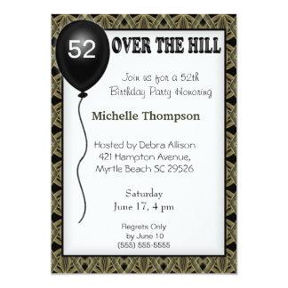 Über der Hügel-kundengerechten Individuelle Einladungskarte