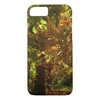 Überdachung der gelben Herbst-Fotografie des iPhone 8/7 Hülle