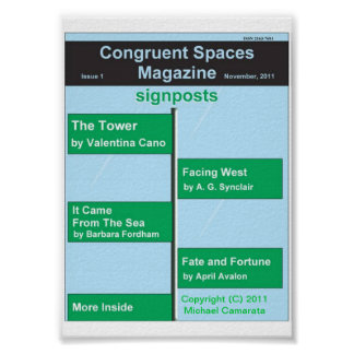 Übereinstimmendes Plakat der Raum-Zeitschriften-Is