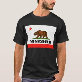 Übereinstimmung, Califirnia -- T - Shirt