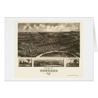 Übereinstimmung, panoramische Karte NH - 1899