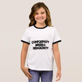 Übereinstimmung Ringer T-Shirt