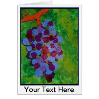 Übereinstimmungs-Trauben Karte