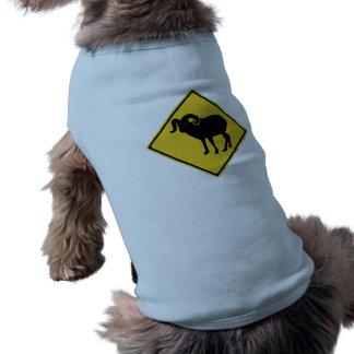 Überfahrt-Gebirgsziegen, Verkehrszeichen, Kanada Shirt