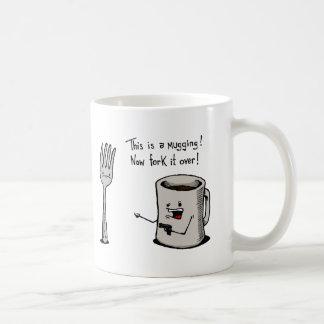 ÜberfallenTasse Kaffeetasse