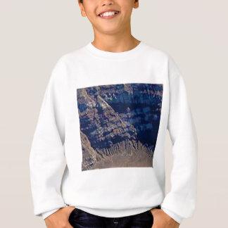 überlagerte Felsenfarben Sweatshirt