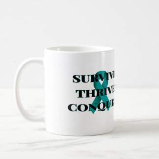 Überleben Sie vorwärtskommen erobern Kaffee-Tasse Kaffeetasse