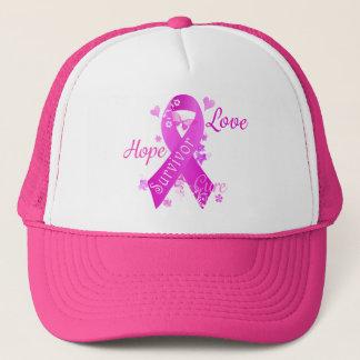 Überlebend-Liebe-Hoffnungs-Heilung Truckerkappe