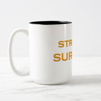 Überlebend-Schalen-Gold Zweifarbige Tasse
