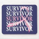 Überlebend-wunderlicher Collagen-Brustkrebs Mousepads