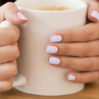Überlebender, Minx-Nagel-Kunst Minx Nagelkunst