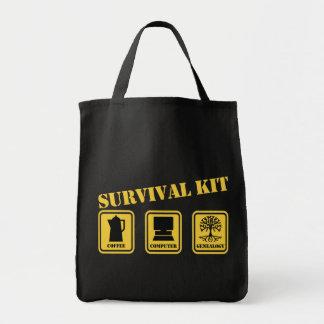 Überlebensausrüstung Einkaufstasche