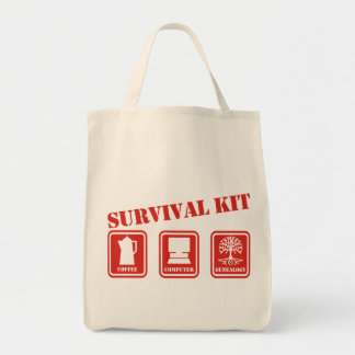 Überlebensausrüstung Tragetasche