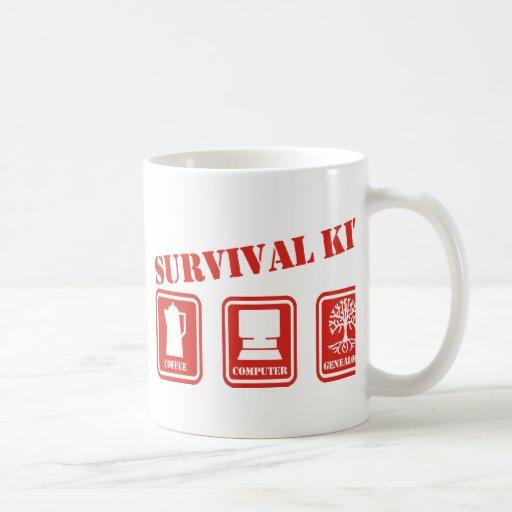 Überlebensausrüstung Tee Tasse