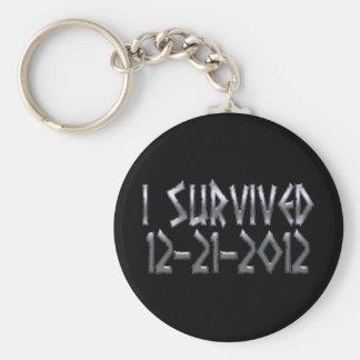 Überlebt 2012 schlüsselanhänger