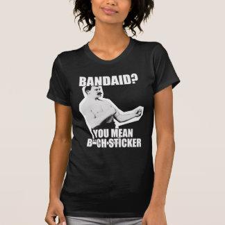 Übermäßig schlägt männlicher Mann wieder! T-Shirt