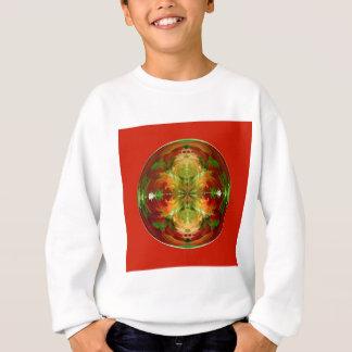 Überrascht auf Rot Sweatshirt