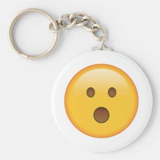 Überraschtes Gesicht - Emoji Schlüsselanhänger